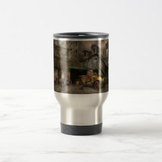 Car - Rue de Valencemm France - A Sunday afternoon Travel Mug