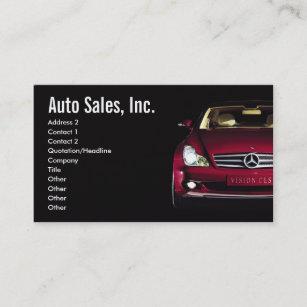 Used auto sales business cards templates zazzle car sales business cards colourmoves