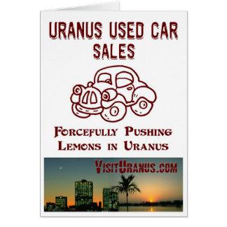 Car Sales Card