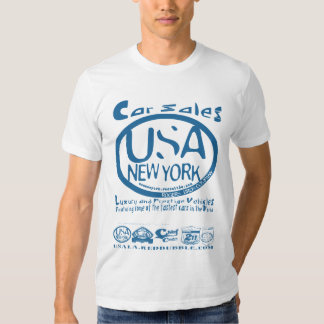 car sales USA nY by rogers bros T-Shirt