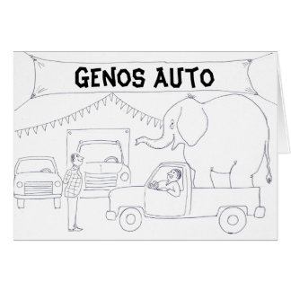 Car Salesman Greeting Card