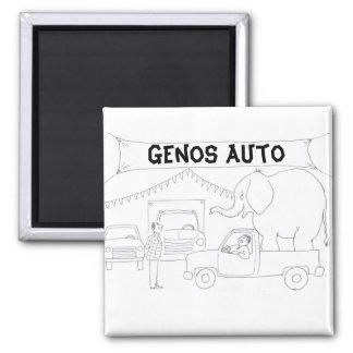 Car Salesman Magnet