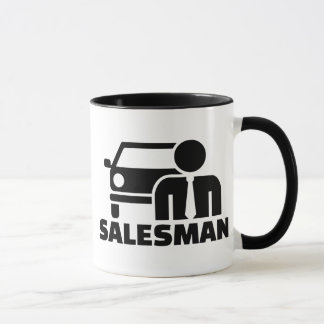 Car salesman mug
