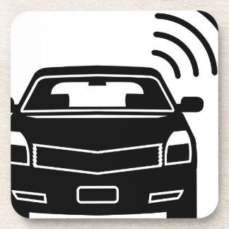 Car sensor Satellite link Wifi Beverage Coaster