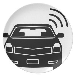 Car sensor Satellite link Wifi Plate