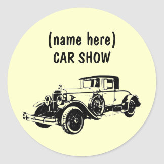 CAR SHOW - Sticker