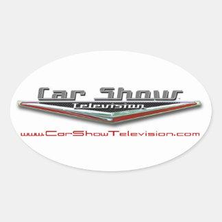 Car Show Television Sticker