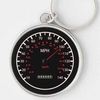 Car Speedometer Keychain