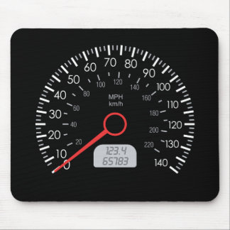 CAR SPEEDOMETER MOUSE PAD