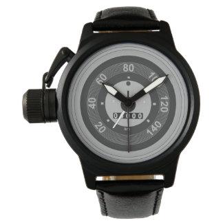 Car Speedometer Wrist Watch