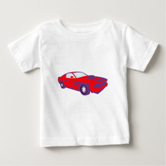 Car sports car of sport car roadster infant t-shirt