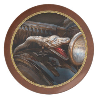 Car - Steamer - Snake Charmer Dinner Plate