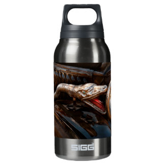 Car - Steamer - Snake Charmer Insulated Water Bottle