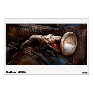Car - Steamer - Snake Charmer Wall Sticker