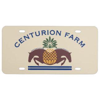 Car Tag #2 License Plate