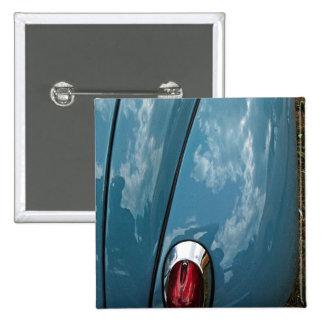 Car tail light button