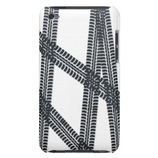 Car tire marks/tracks iPod Touch Case Cover
