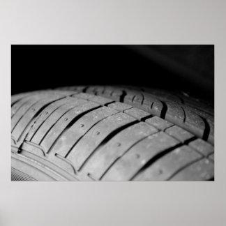 Car Tire Print