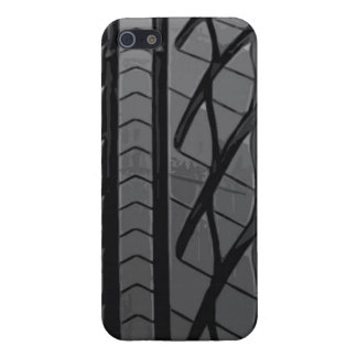 car tire thread rubber cool black street asphalt t iPhone SE/5/5s cover