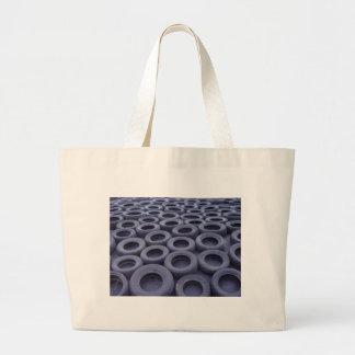 Car Tires Canvas Bags