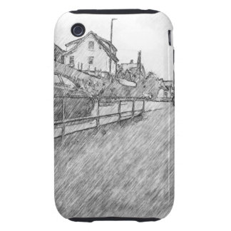 car traffic drawing tough iPhone 3 covers