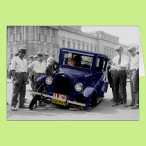 Car Troubles Greeting Card