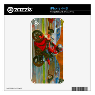CAR & TRUCK-LOVERS Transport Theme Skin Decals For iPhone 4S