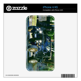 CAR & TRUCK-LOVERS Transport Theme Skin iPhone 4 Decals