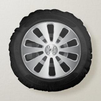Car tyre round pillow