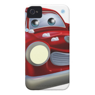 Car valet cartoon iPhone 4 Case-Mate case