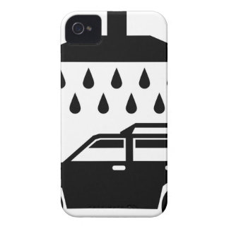 Car was b/w vector iPhone 4 case