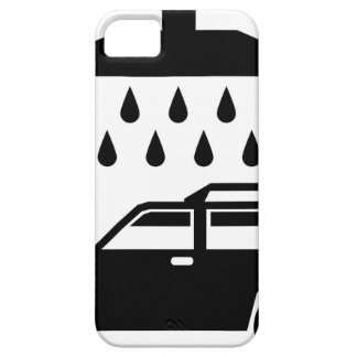 Car was b/w vector iPhone SE/5/5s case