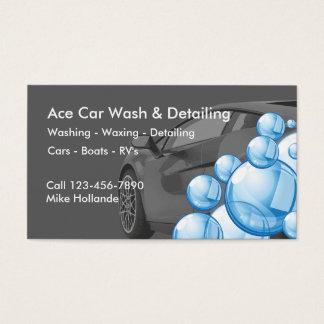 Car Wash Business Cards & Templates | Zazzle