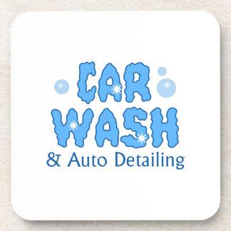 CAR WASH AUTO DETAILING BEVERAGE COASTERS