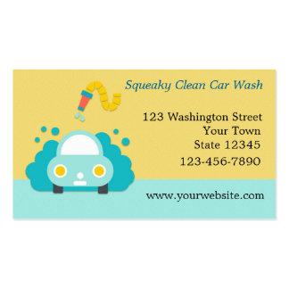 Car Wash, Detailing Pack Of Standard Business Cards