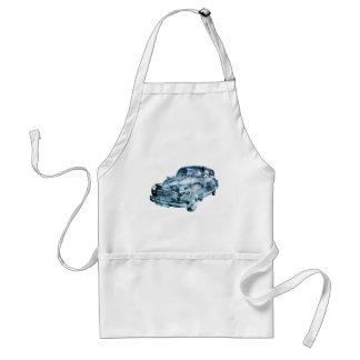 car wash double exposure adult apron