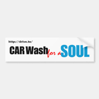 Car Wash for a Soul Bumper Stickers