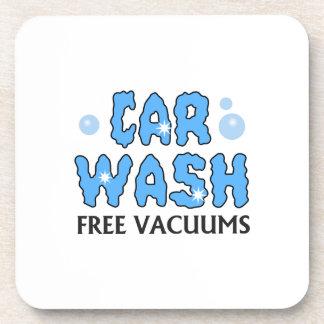 CAR WASH FREE VACUUMS COASTERS