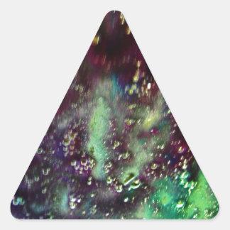 Car Wash IV Triangle Sticker