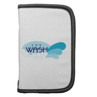 car wash folio planners
