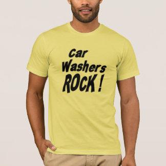 Car Washers Rock! T-shirt