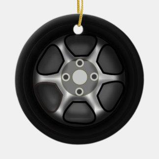 Car Wheel Ornament