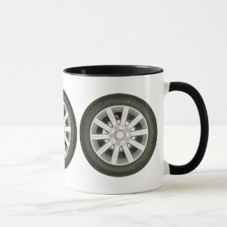 Car Wheel/Tire Mug
