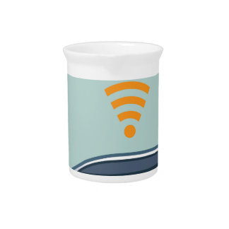Car Wifi Vector Drink Pitchers