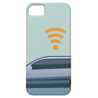 Car Wifi Vector iPhone SE/5/5s Case