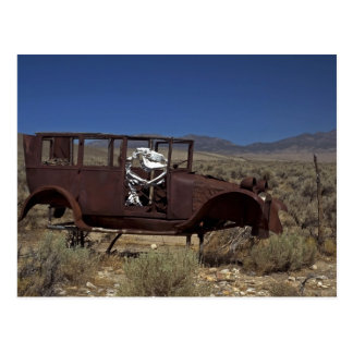 Car With No Name Postcard