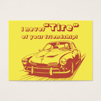 Car Word Play School Kids Valentines Day in Bulk Business Card