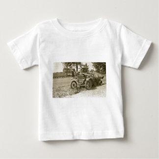 Car Wreck Marine City MI July 1930s - Vintage Baby T-Shirt
