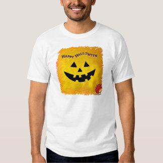 Cara 2 de la calabaza de Halloween Playera
