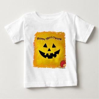 Cara 2 de la calabaza de Halloween Polera
